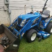 New holland tractor 4x4 TC24DA with 914A 60 inch belly mower