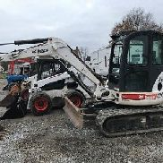 2007 Bobcat 435 Mini Excavator w/ Cab! Coming In Soon!