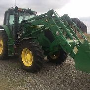 John Deere 2015 6150M 4x4 With H360 Loader Only 333hrs ALMOST BRAND NEW