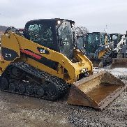 2010 Caterpillar 277C Compact Track Skid Steer Loader 2 Speed Hydraulic Coupler