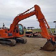 2009 Terex TXC140 LC-2 Excavator w/ Hydraulic Thumb Diesel Track Hoe Cabbed AC