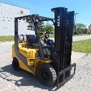 Used TCM PNEUMATIC Forklift - 5,000 Lbs Capacity - Ready for Work!