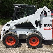 2012 Bobcat S185 skid steer cab, heat, pilot controls, power tach