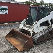 2011 Bobcat T190 Tracked Skid Steer Loader w/ Cab!