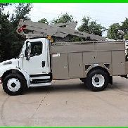 2005 Freightliner M2 Brown Used bucket