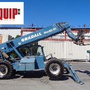 Gradall 544D-10 10,000lbs Telescopic Forklift - 54ft Height - Outriggers