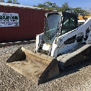 2012 Bobcat T770 Tracked Skid Steer Loader w/ Cab!