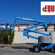 2007 Genie Z60 / 34 Rough Terrain 60ft Aerial Boom Man Scissor Lift - Diesel