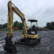 2007 Komatsu PC50MR Mini Excavator w/ Wrist-O-Twist Bucket!