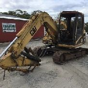 1996 Caterpillar 307 Midi Excavator! Fire Damage!