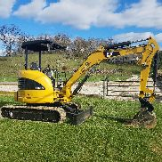 2008 Caterpillar 303C CR Mini Excavator Track Hoe Hydraulic Plumbed Blade Cat.