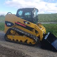 2008 Caterpillar 279C Compact Tracked Skid Steer Loader Diesel Cat 2 Speed Cat
