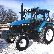 New Holland TS 100 Cab Tracteur CAN SHIP @ 1,85 $ chargé mile
