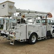 Bucket Truck, Altec Bucket Truck, Two Man Bucket Truck 50 Foot Reach, Diesel