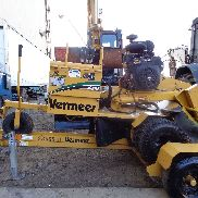 2013 Vermeer SC252 Stump Grinder Wood Chipper - With Trailer