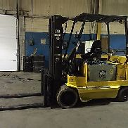 Yale 12,000 Lbs. Cap. Electric Forklift 48V w / approx. 5 hr. Battery & Charger