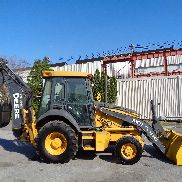 2011 John Deere 310J Loader Backhoe - 4x4 - Enclosed Cab - Extendahoe