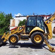 2014 Caterpillar 420FIT Loader Backhoe - 4x4 - Enclosed Cab - Extendahoe