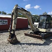 2006 Ingersoll Rand ZX75 Midibagger w / Cab!