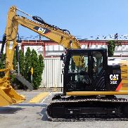 2016 Caterpillar 312E Crawler Excavator - Enclosed Cab - Diesel