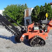 2011 Ditch Witch RT12 Trencher - Gummi Tracks - Briggs und Stratton Motor