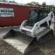 2006 Bobcat T190 Tracked Skid Steer Loader w/ Cab & Joysticks!