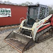 2012 Takeuchi TL230 Tracking Skid Steer Loader w / Cab!