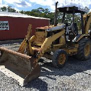 1992 Caterpillar 416B Tractor Loader Backhoe!