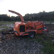2007 vermeer bc1000 wood chipper cummins turbo diesel auto feed