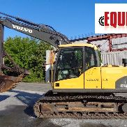 2012 Volvo EC140CL Excavator - Enclosed Cab - Auxiliary Hydraulics - Heat & AC