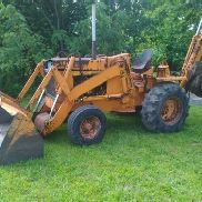 CASE 680 CK TRACTOR LOADER BACKHOE, DIESEL ENGINE