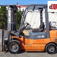 2012 Heli CPYD25-TY5 5,000 lbs Forklift - Triple Mast - Side Shift - Propane