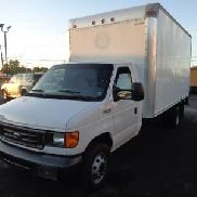 2005 Ford Econoline CUTAWAY 16FT BOX TRUCK RAMP 6.0 TURBO DIESEL FLAWLESS LOOK!