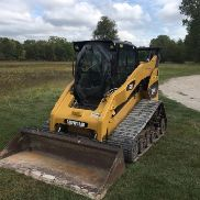 CATERPILLAR 287C -2 ZWEI SPEED TRACK LADER EROPS (NEUE TRACKS)