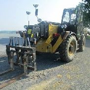 Caterpillar TH417C Telehandler Forklift, Cab, 8800 LB, 56' Lift, Only 1651 Hours