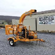 "2008 Bandit 65XP Wood Chipper 6 ""Self Feed 80 FPM Cepillo remolcable 35 HP Gas !!!"