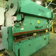 "12' OAL Wysong Model 150-10, 150 Ton, 12' X 3/16"" (8' X 1/4"") Press Brake"