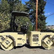2005 INGERSOLL RAND DD70 DOUBLE DRUM ROLLER COMPACTEUR EQUIPMENT asphalter