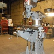 "1992 Bridgeport Series I, 2 HP, Vertical Milling Machine w/ 48"" Table, DRO, PF."