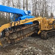 VERMEER T655 TRENCHER ROCK ON SAW Ditch Witch TRACKS