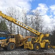 P&H OMEGA H R180 18 TON ROUGH TERRAIN CRANE GROVE 4X4X4 24' - 65' BOOM SHEAVE