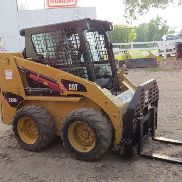 2010 Cat 226B2 Cab Skid Steer Loader