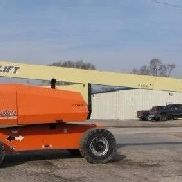 2013 JLG 800AJ, 1,315 hrs Articulating boom lift Skypower excellent condition!