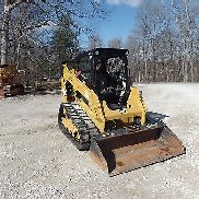 2014 Caterpillar 259D Cat Ketten skidsteer Schöne Form Video reinigen!