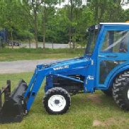 1998 New Holland 1630 Kompakttraktor mit Loader & Curtis Cab