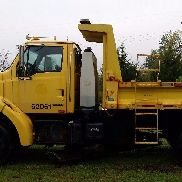 2002 Sterling L7500 10ft Dump Truck w/ Belly Plow Automatic Transmission