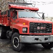 GENUINE GMC TOPKICK 1990 DUMP TRUCK / SALT TRUCK / PLOW TRUCK / CAT 3116 ENGINE