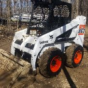 Bobcat 863 SKIDSTEER skid loader new pins bushings tires ready to roll machine