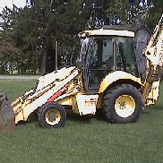 L@@K -----2003 NEW HOLLAND LB75B 4X4,BACKHOE LOADER,LOW HOUR & SUPER CLEAN