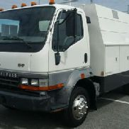 2003 Mitsubishi Fuso FH-SP Diesel 14 FT Encolsed Utility Danzer Morrison! WOW